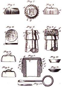 crown cork and seal corkscrew. Black Bedroom Furniture Sets. Home Design Ideas